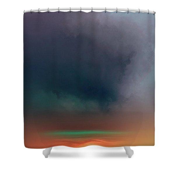Glow 2 Shower Curtain