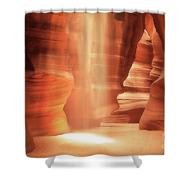 Glow - Antelope Canyon Shower Curtain
