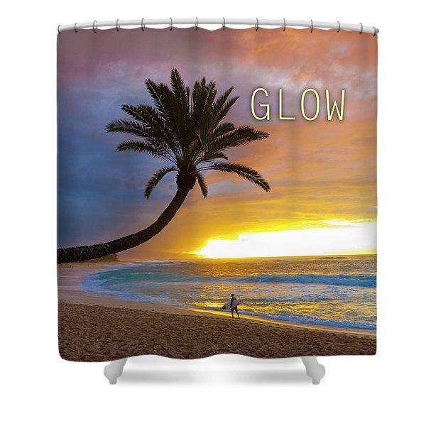 Glow. Shower Curtain
