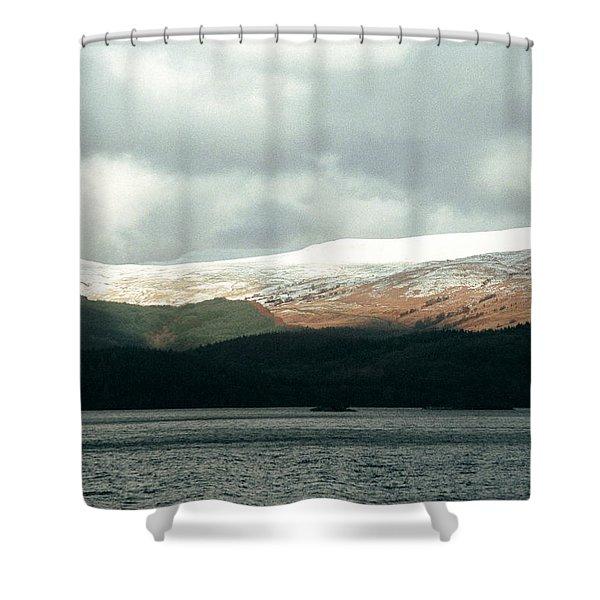 Glowering Shower Curtain