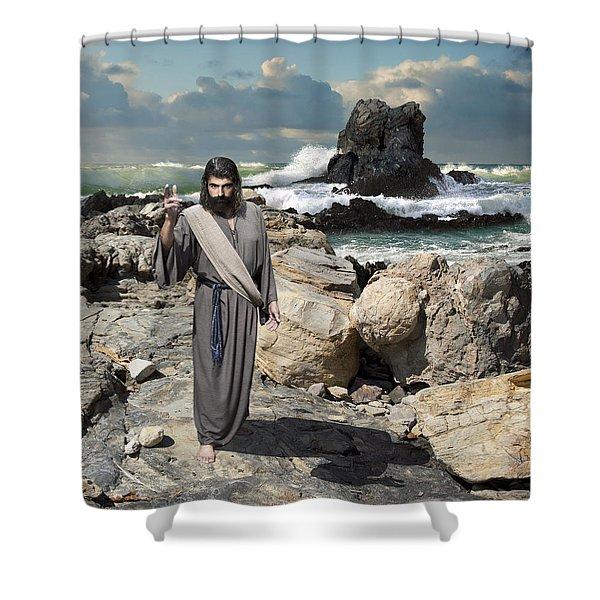 Go Your Faith Has Healed You Shower Curtain