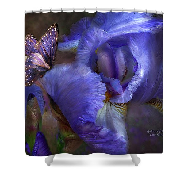 Goddess Of Mystery Shower Curtain