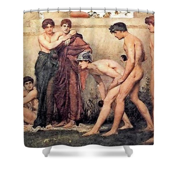 Gods At Play Shower Curtain
