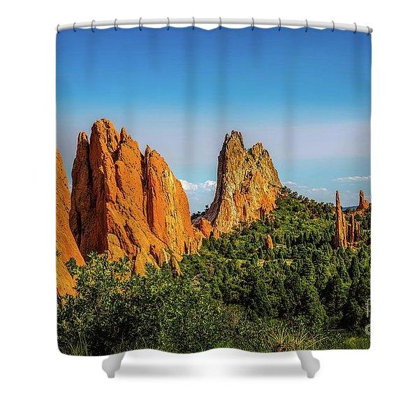 God's Garden Shower Curtain