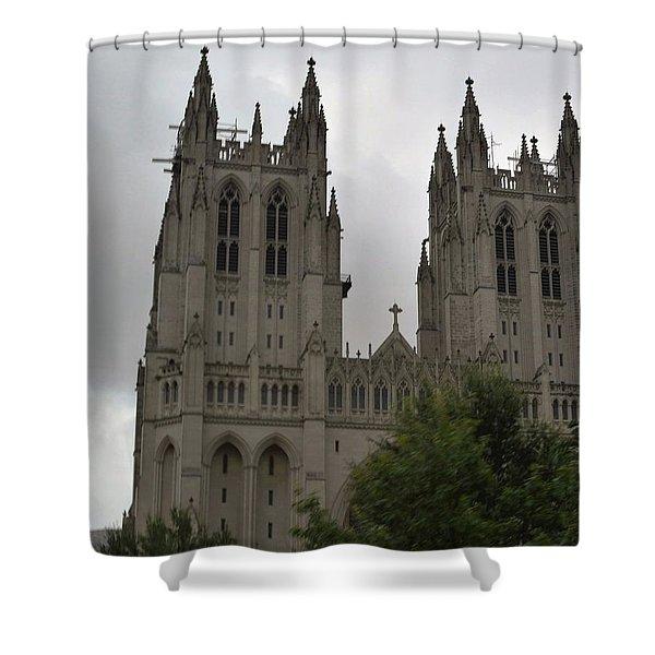 God's House Shower Curtain