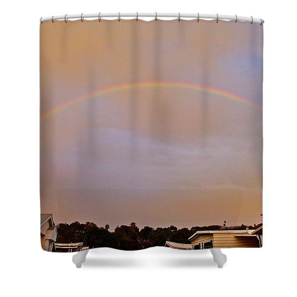 God's Promise Shower Curtain