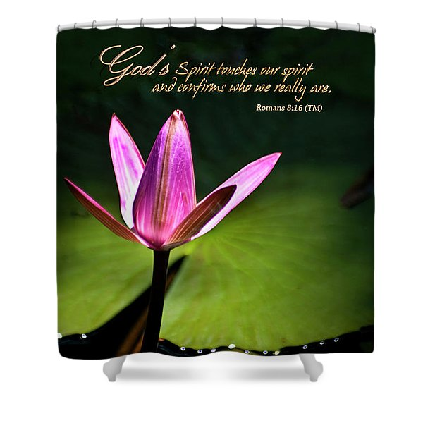 Shower Curtain featuring the photograph God's Spirit by Carolyn Marshall