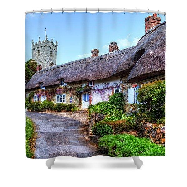 Godshill - Isle Of Wight Shower Curtain