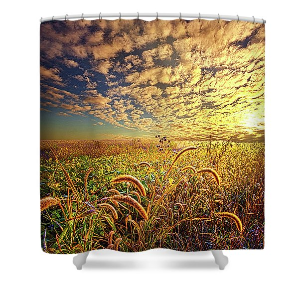 Going To Sleep Shower Curtain