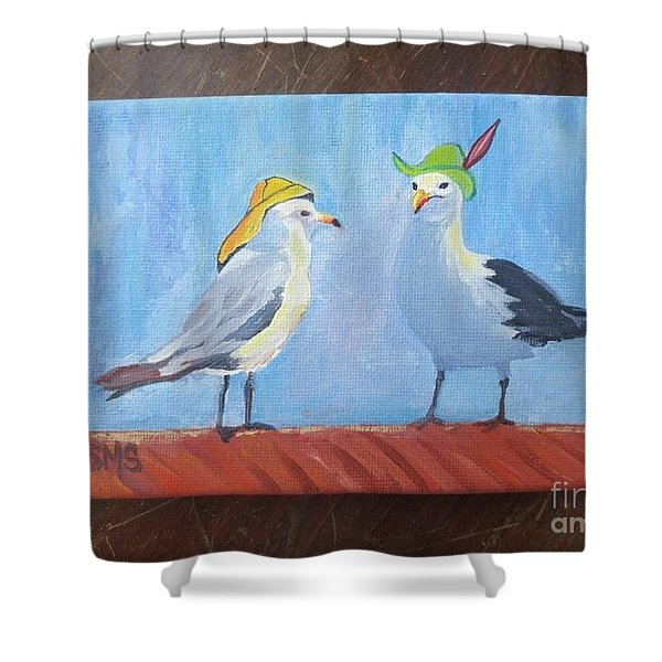 Going To The Hat Parade Shower Curtain