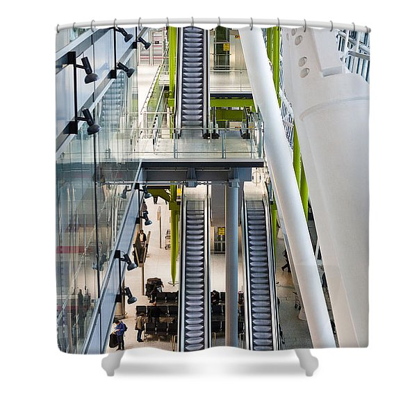 Going Up... Shower Curtain