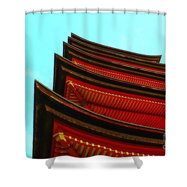 Gojunoto Shower Curtain