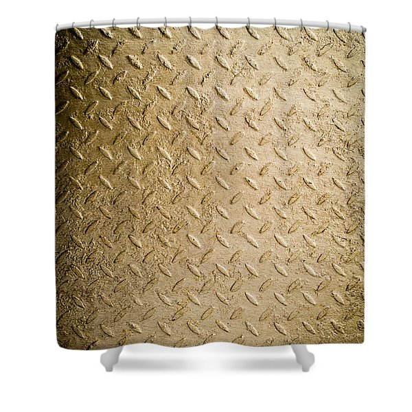 Grit Of Goldfinger Shower Curtain