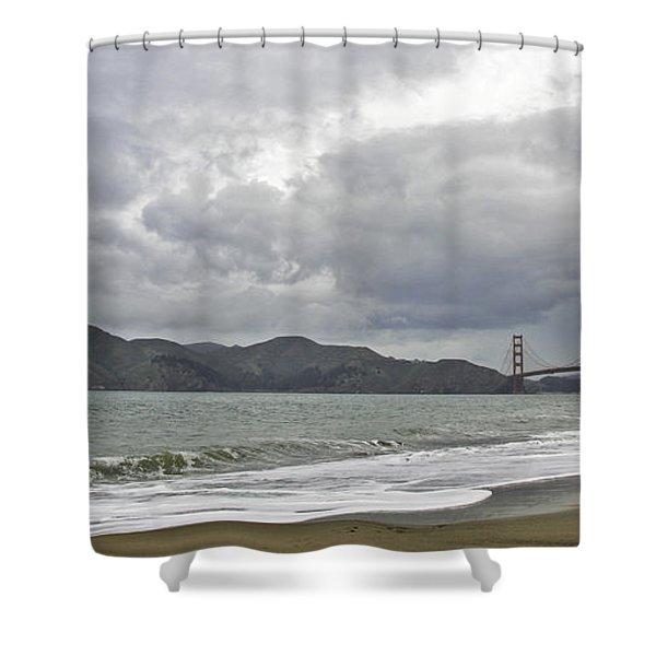 Golden Gate Study #2 Shower Curtain