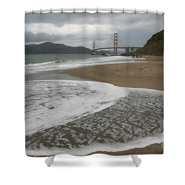 Golden Gate Study #3 Shower Curtain