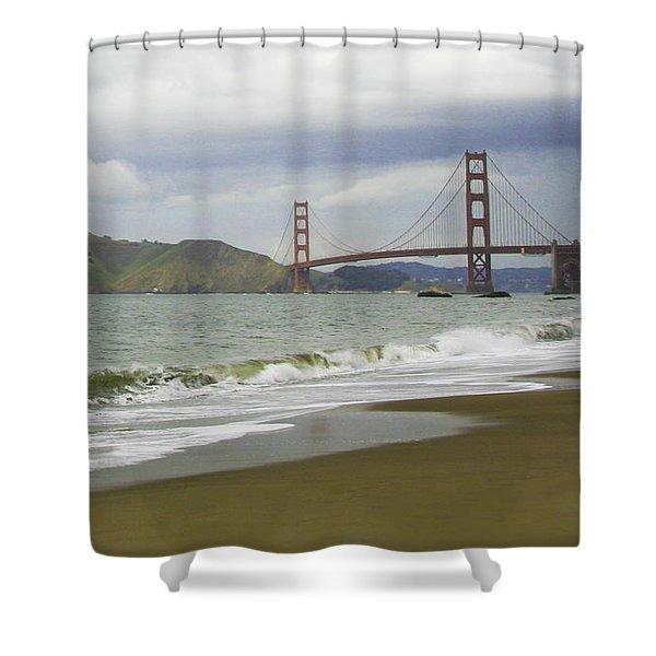 Golden Gate Bridge #4 Shower Curtain