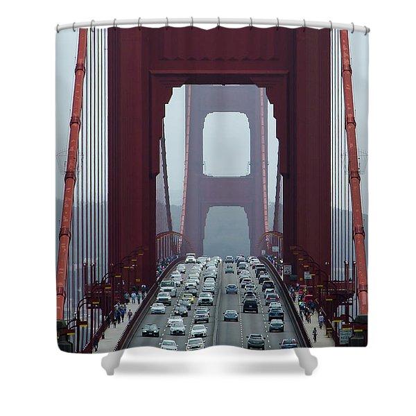 Golden Gate Bridge, San Francisco Shower Curtain