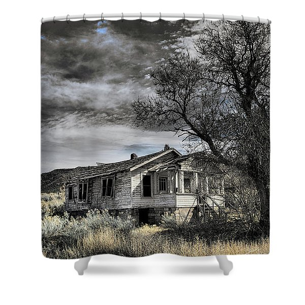 Golden New Mexico Shower Curtain