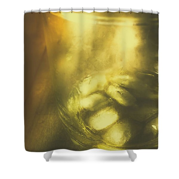 Golden Saloon Afternoon Shower Curtain
