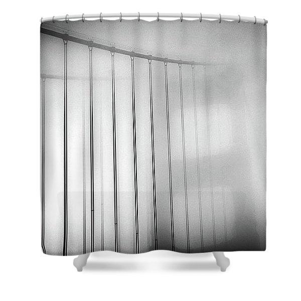 Golen Gate Fog Shower Curtain