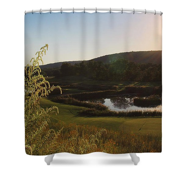 Golf - Foursome Shower Curtain