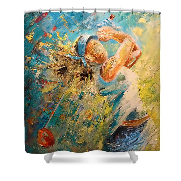 Golf Passion Shower Curtain