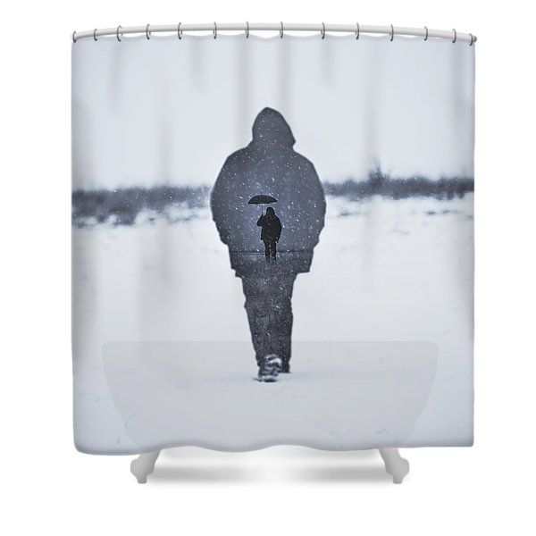 Gone Shower Curtain