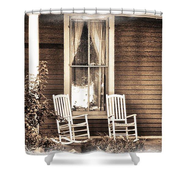 Gone Shower Curtain