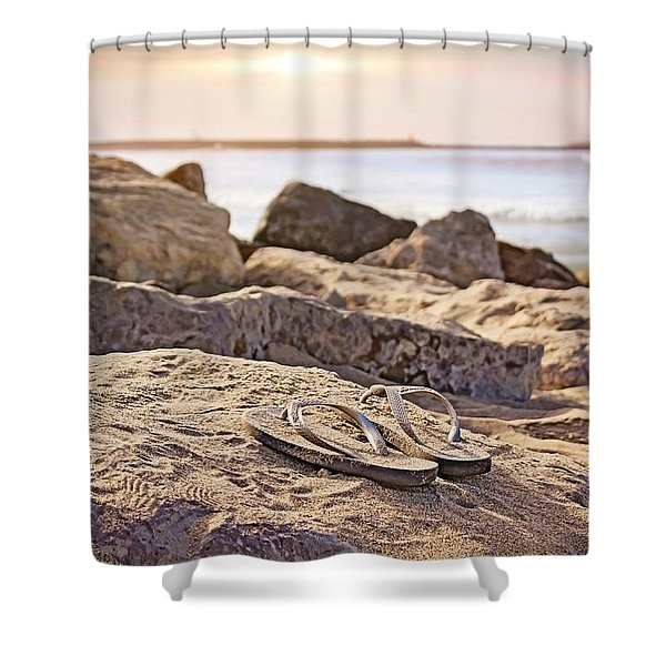 Gone Surfin' Shower Curtain