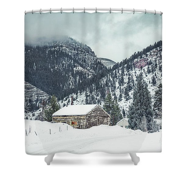 Gonesville  Shower Curtain