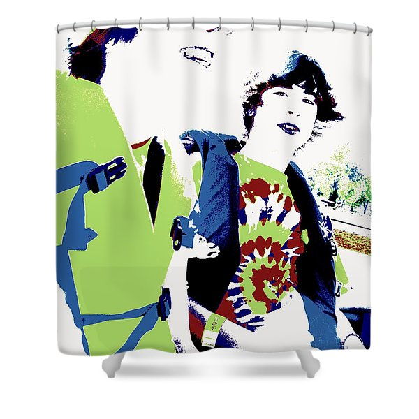 Good Friends Shower Curtain