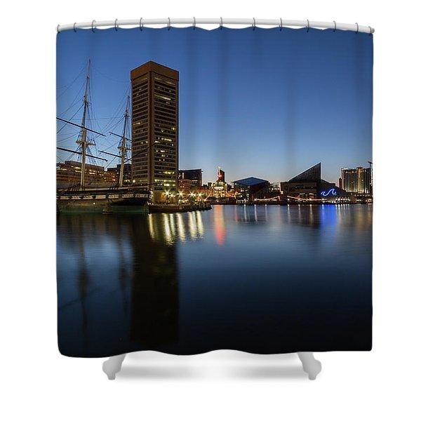 Good Morning Baltimore Shower Curtain