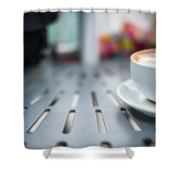 Shower Curtain featuring the photograph Good Morning by Break The Silhouette