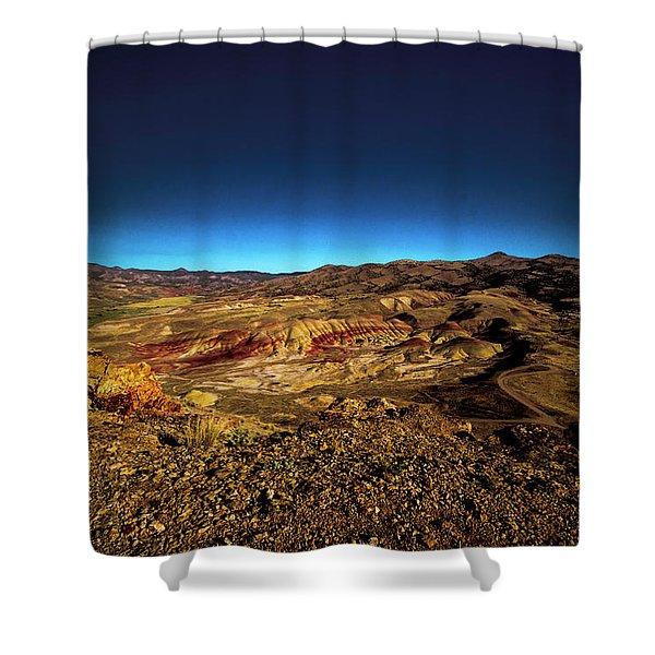 Good Morning From The Oregon Desert Shower Curtain
