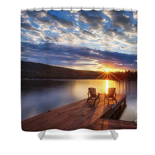 Good Morning Sun Shower Curtain