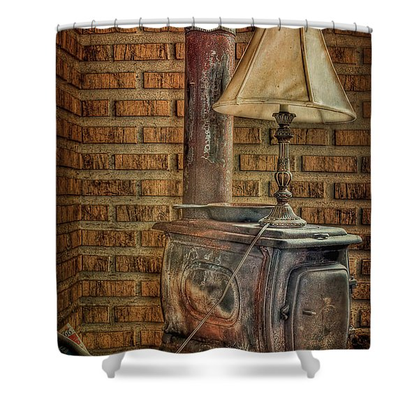 Good Old Days Shower Curtain