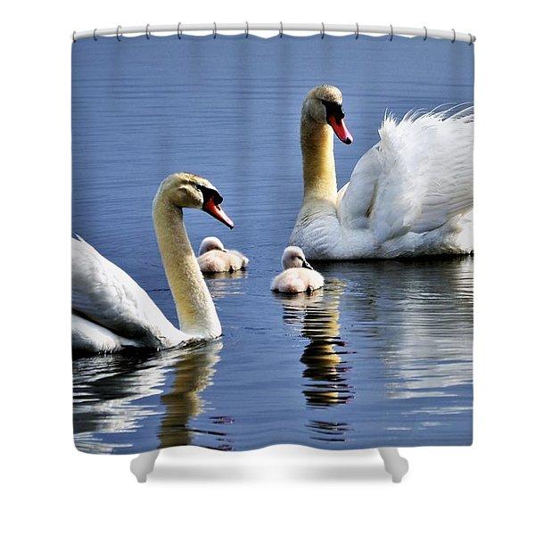 Good Parents Shower Curtain