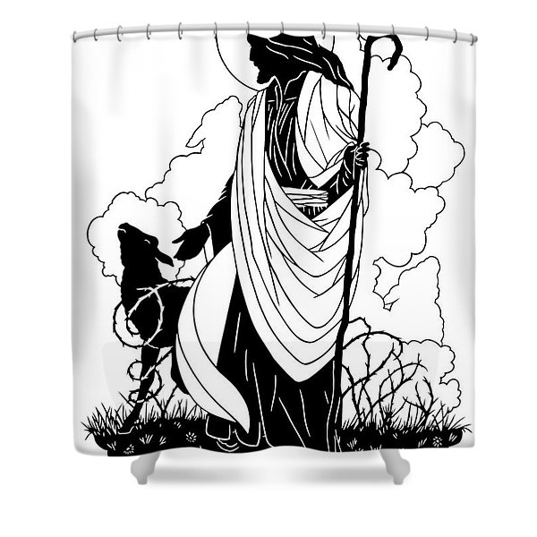 Good Shepherd - Dpgsh Shower Curtain