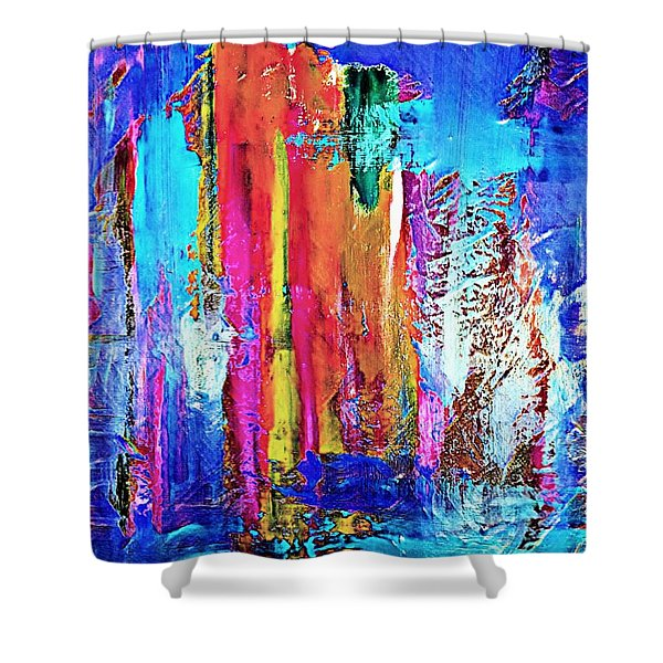 Good Things Are Coming Shower Curtain