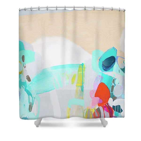 Good Timing Shower Curtain