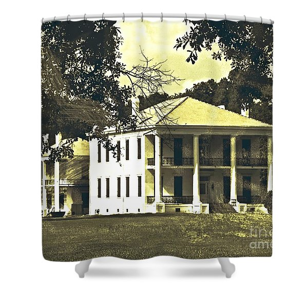 Goodwood Plantation Baton Rouge Circa 1852 Shower Curtain