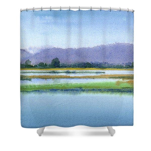Goose Island Marsh Shower Curtain