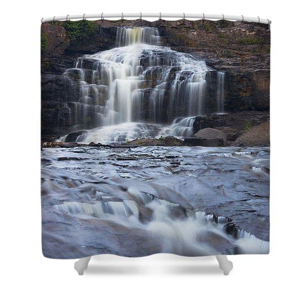 Gooseberry Falls North Shore Minnesota Shower Curtain