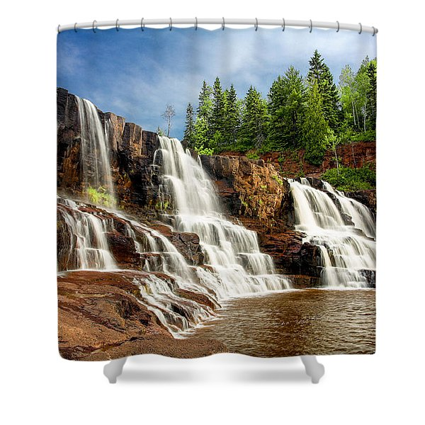 Gooseberry Falls Shower Curtain