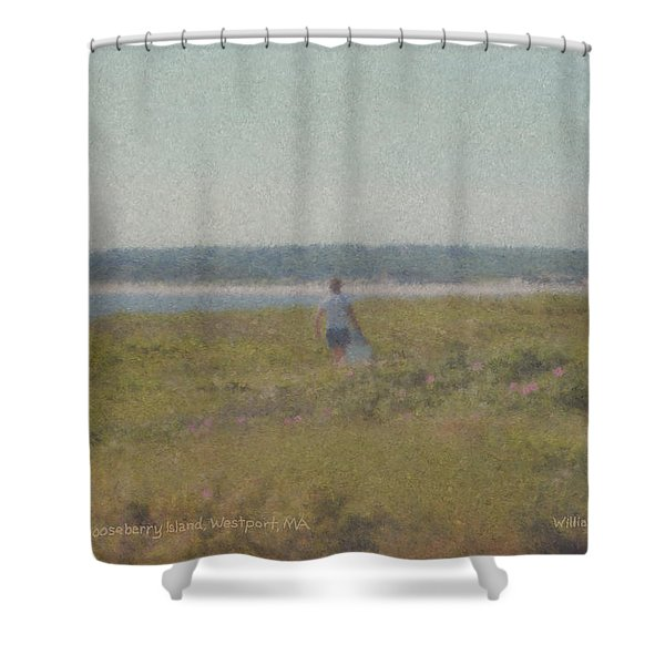 Gooseberry Island Westport Ma Shower Curtain