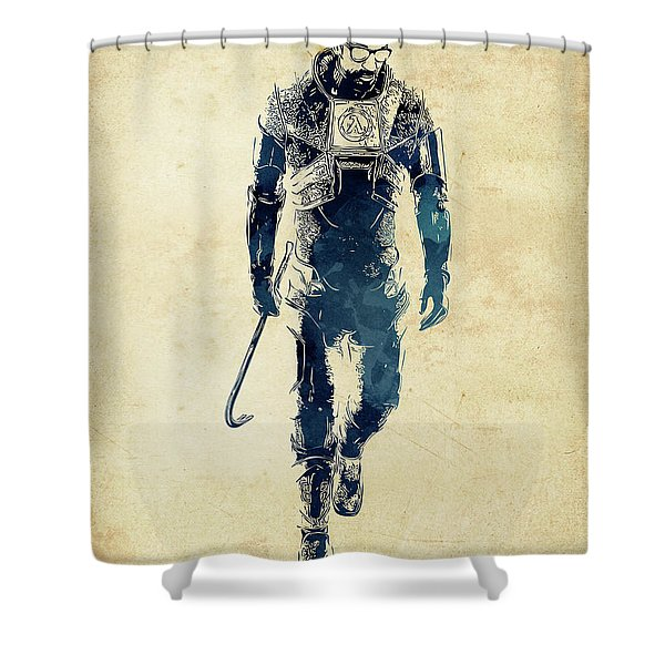 Gordon Freeman Shower Curtain