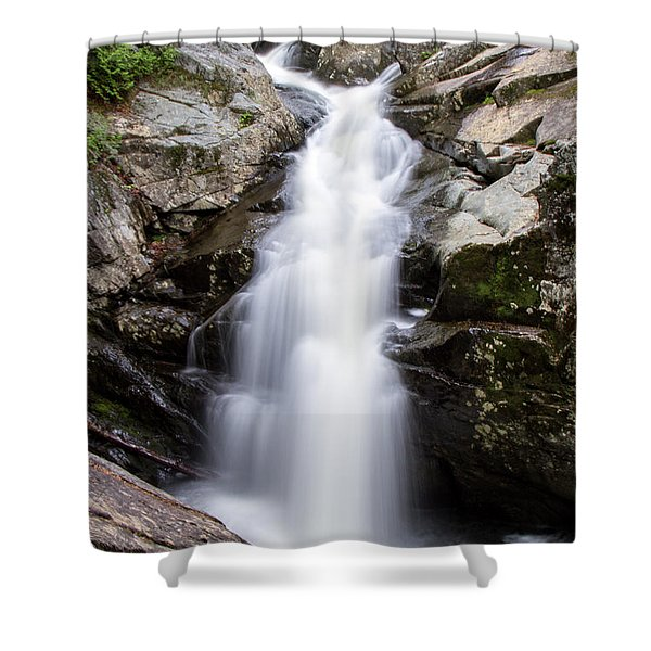 Gorge Waterfall Shower Curtain