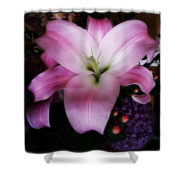 Shower Curtain featuring the photograph Gorgeous Flowers. Real. I Think They by Mr Photojimsf