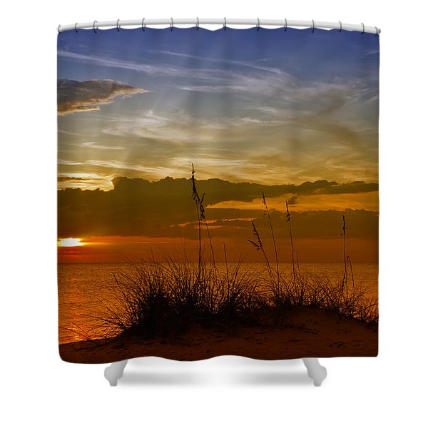 Gorgeous Sunset Shower Curtain