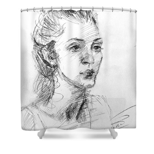 Georgia Shower Curtain